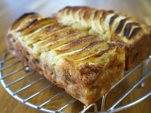 シュトーレン風のリンゴのケーキ NYCooking DSC04630