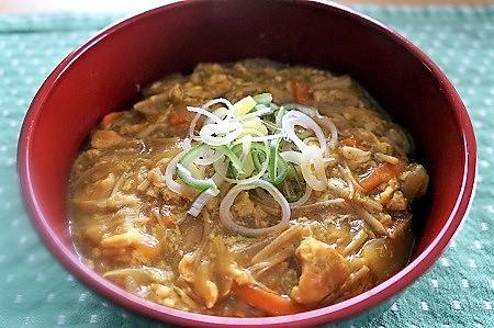 カレー丼 (2)