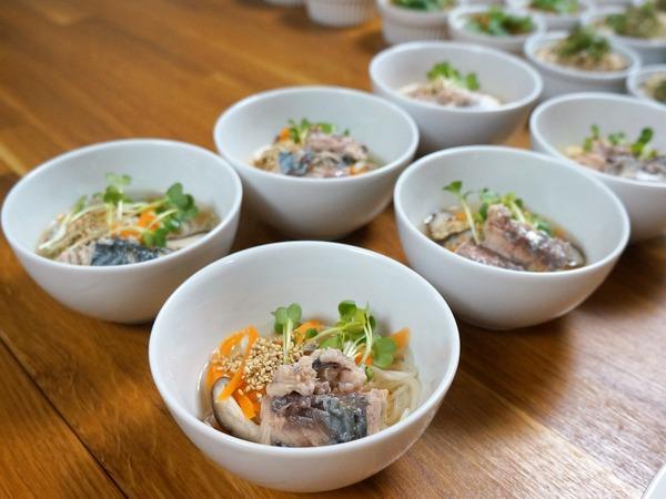 鯖缶にゅう麺 NYCooking