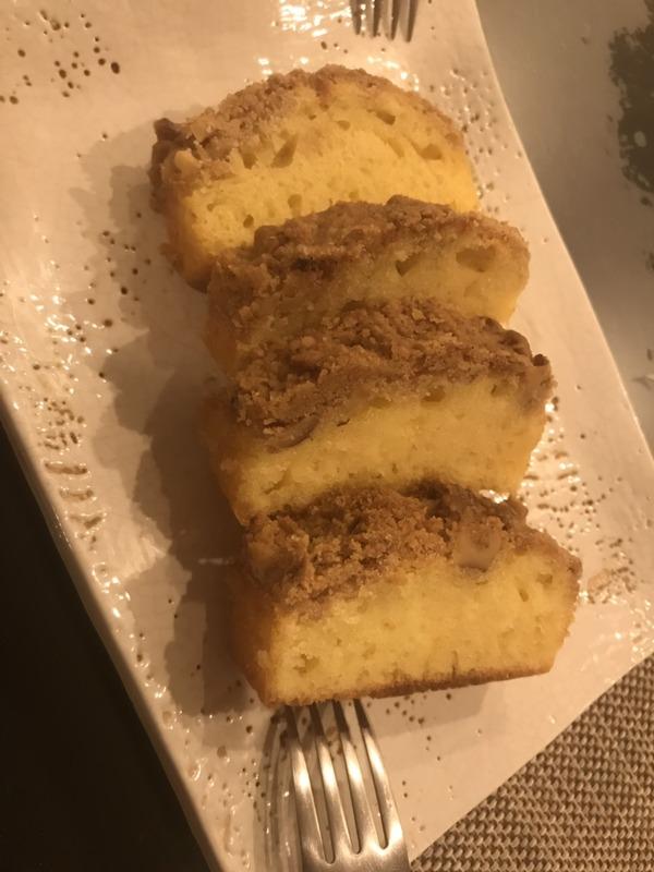 2019 05 春のランチメニュー クラムケーキ