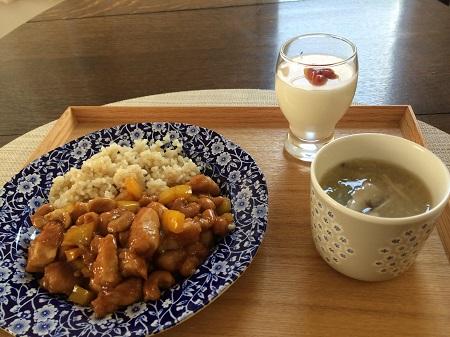 鶏とカシューナッツの炒め物-450