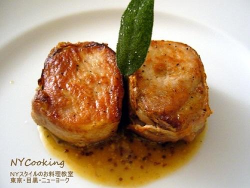 豚ヒレ肉のソテー NYCooking