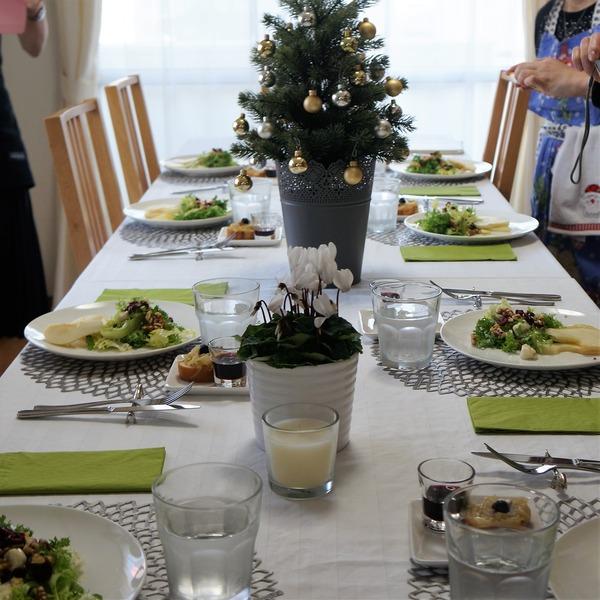 洋梨とブルーチーズのサラダ クリスマス NYCooking DSC04281 (3)