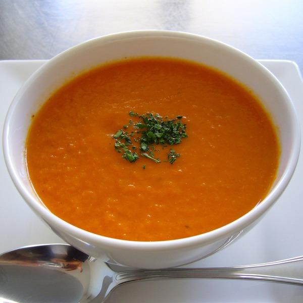 トマト&キャロットスープ NYCooking P1060222(2)