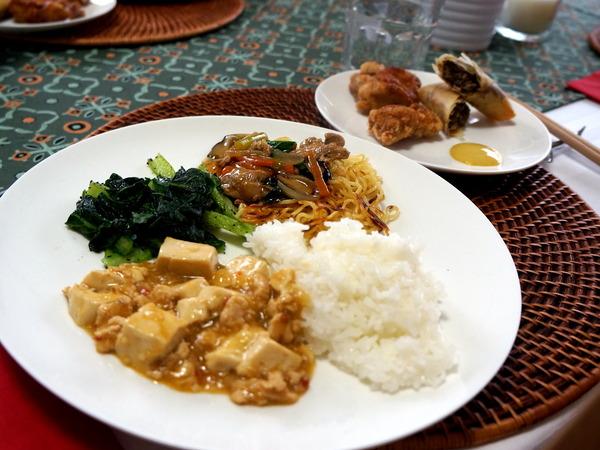 お惣菜とマッシュルームの春巻きDSC04885-001