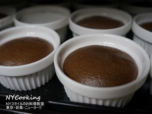 チョコレート スフレ ケーキ NYCooking