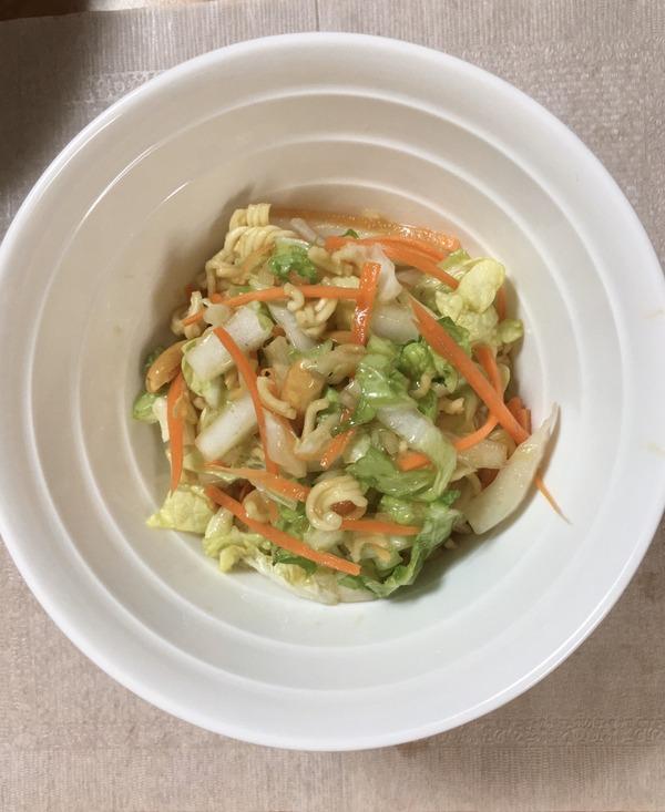 2020 04 白菜のサラダ つくれぽNYCooking