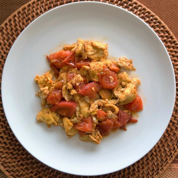 トマトと卵の炒め物 NYCooking DSC02973 (4)