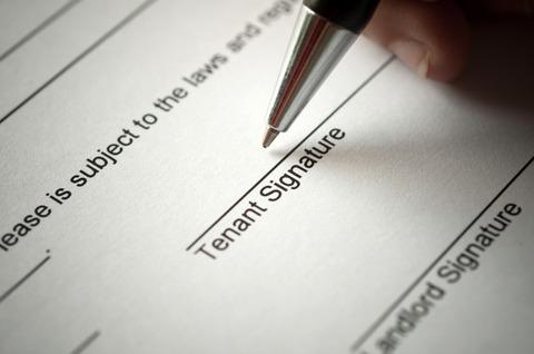 Tenant Signature