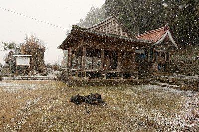 015 雪の健男霜凝日子神社