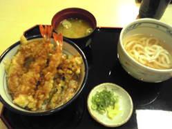 2010_05_15上天丼小うどんセット
