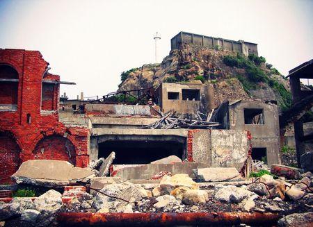 九州の廃墟で打線