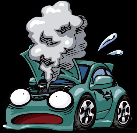【ヤバい】車のエンジンルームから『白い煙』出てるんだが→結果wwwwww
