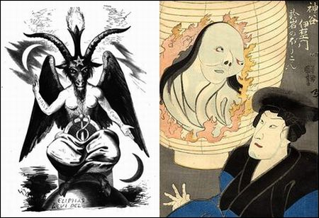 日本と西洋ホラーの違い