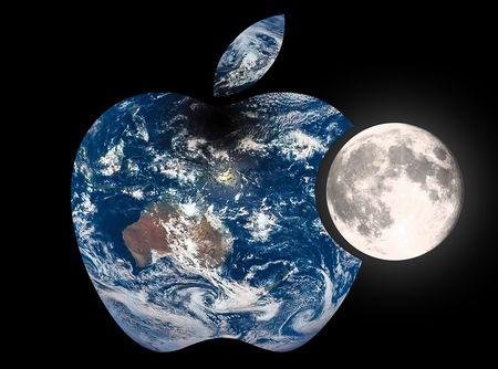 地球の酸素が月に到達している