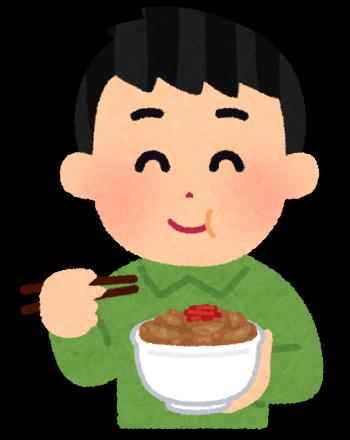 syokuji_gyudon_man