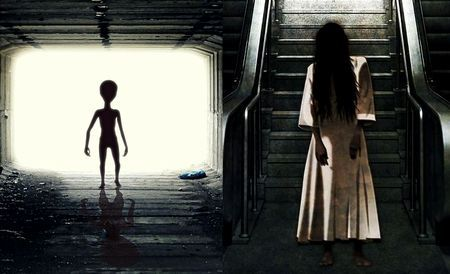 宇宙人と幽霊