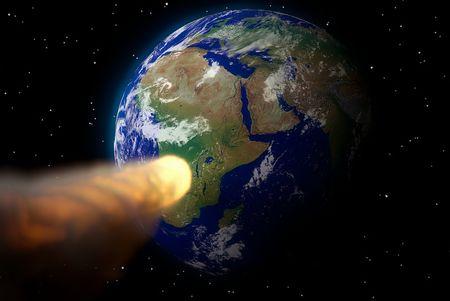 未知の小惑星地球衝突の危機