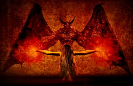 悪魔召喚と死の予言