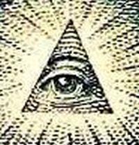 イルミナティのシンボル ピラミッドに目