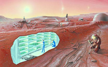 火星など他の惑星をテラフォーミングし惑星移住する