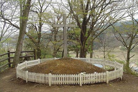 青森県新郷村にあるキリストの墓