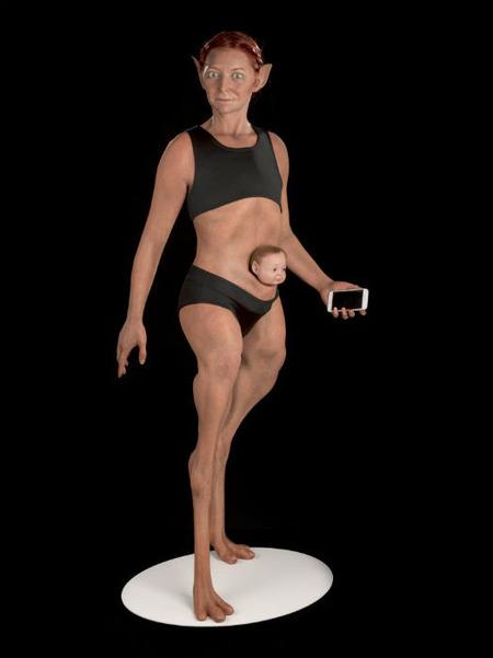 """【ヒエッ】英解剖学者が考えた """"完璧な人間の体"""" がこちらwwwwww"""