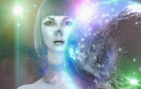 夢に現れる宇宙人と話をする