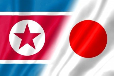 日本北朝鮮国旗