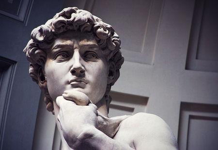 事故物件ダビデ像が口説いてくる