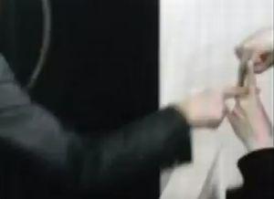 メイソンの指サイン
