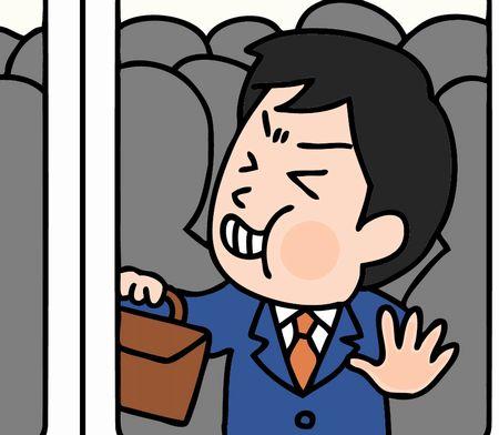 電車で嫌な事
