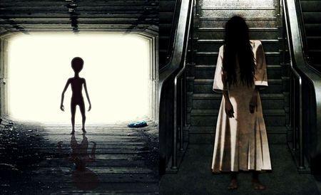 幽霊と宇宙人