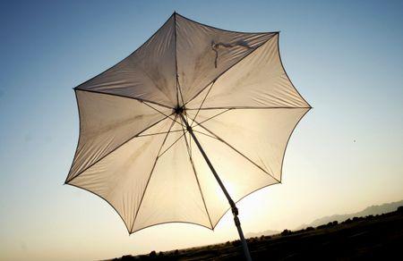 傘を借りた異形