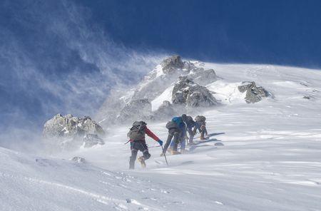 雪山 登山