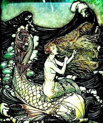 漁村の人魚伝説