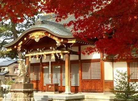 お寺さんとか神社好き
