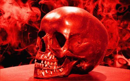 七不思議地下室の鏡は地獄に通じている