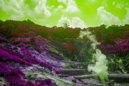 山奥の温泉