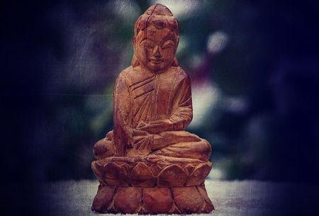 呪いの仏像
