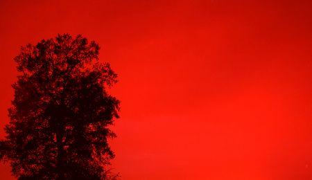 赤い空の異世界体験談