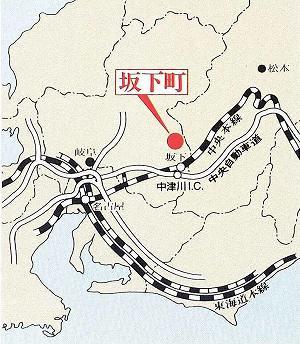 坂下町マップ