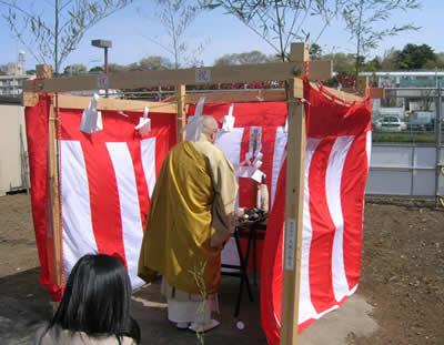 仏式地鎮祭