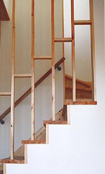 階段室の通風の工夫