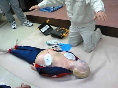 AEDの体験