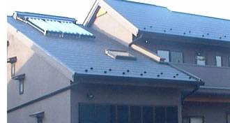 南側(風上)の天窓