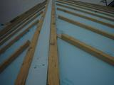 40ミリ断熱材棟にも敷き込み