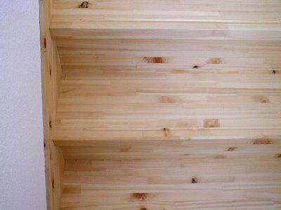 檜集成材 階段