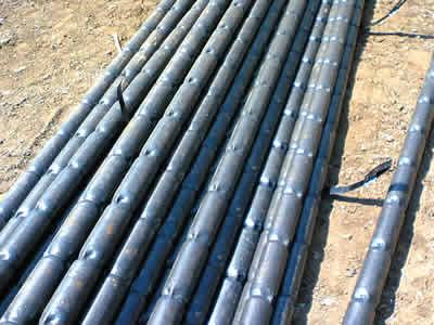 特殊な摩擦鋼管杭