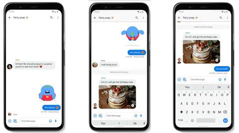 Google、Androidアプリ「メッセージ」のRCSサポートを全米で開始すると発表
